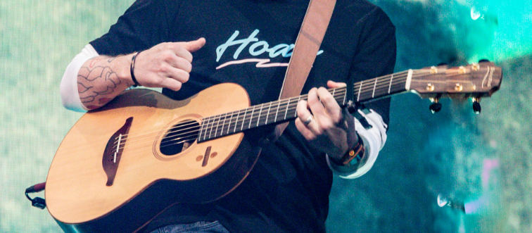 Ed Sheeran Concert At Wanda Metropolitano In Madrid